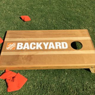 The Home Depot Backyard is NOW OPEN