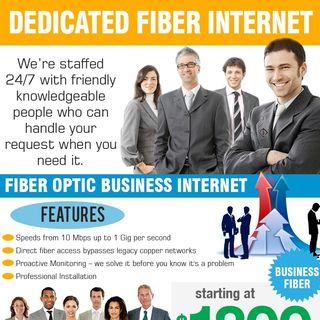 Fiber optic business internet