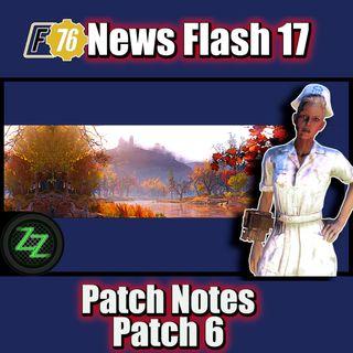 [F76 News Flash 17] Fallout 76 Patch 6 (deutsch) neue Patchnotes vorgelesen & kommentiert
