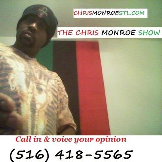 Chris Monroe Show - 9 Areas of Battle Racism White Supremacy 3-28-2016