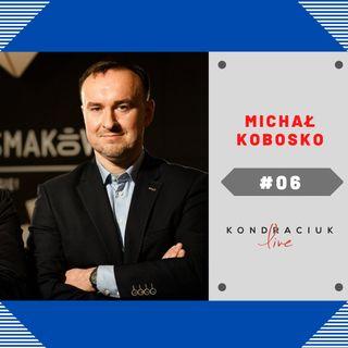 Premiera! Dziennikarz Michał Kobosko w Kondraciuk LIVE! #06 Internetowy talk-show
