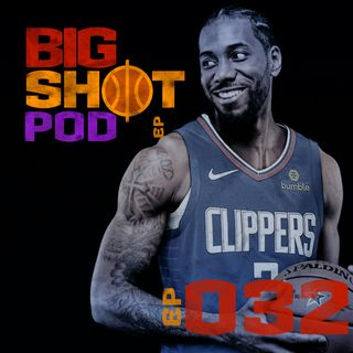 #032 - Terremoto na NBA: Kawhi e Paul George no Clippers