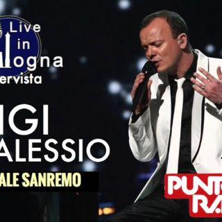 Intervista a Gigi D'Alessio (Speciale Sanremo 07/02/2017)