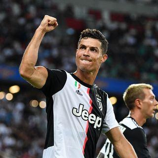 Cristiano Ronaldo ya se encuentra en Turín