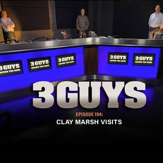 Clay Marsh Visits Tony Caridi, Brad Howe and Hoppy Kercheval