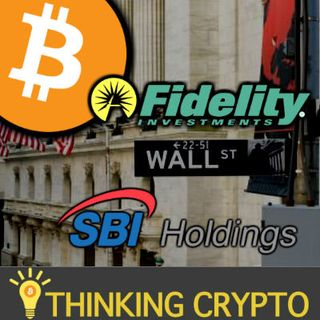 Investments Banks Want Control of BITCOIN & CRYPTO MINING! SEE PROOF! Fidelity, SBI Holdings