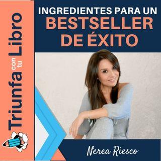 Manual de seducción para escritores con Nerea Riesco