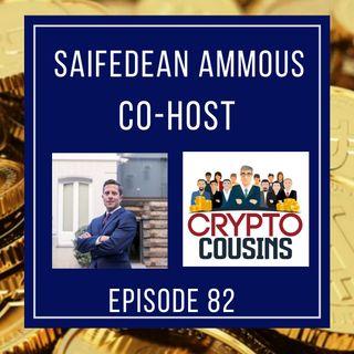 Todays  Co-host Is Saifedean Ammous - The Bitcoin Standard