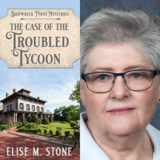Mystery Author Elise M. Stone on Big Blend Radio