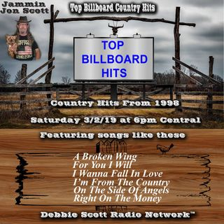 Billboard Top Country Music Hits of 1998 3-2-19