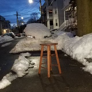 Boston's Space Saver Grace Period Lasts Until Friday Evening