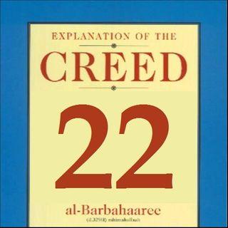Sharhus-Sunnah 22: Intercession (Point #21 cont'd)
