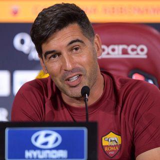 """Roma, Fonseca: """"Lazio, Milan e Napoli? Vogliamo qualificarci in Champions"""""""