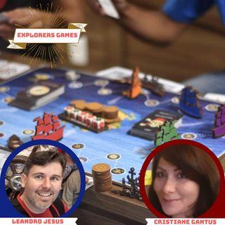 #22 - Análises sobre o Jogo sério Explorers Games com Leandro Jesus e Cristiane Gantus