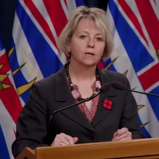 Policy and Right BC Media Update with dr bonnie henry November 10 2020