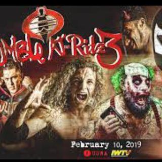 ENTHUSIASTIC REVIEWS #135: UnderGround Wrestling Alliance Rumble At The Ritz 3 2-19-2019 Watch-Along