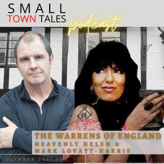 October 2021: Paranormal Duo Team Heavenly Helen & Mark Lovatt-Harris, the Warrens of England