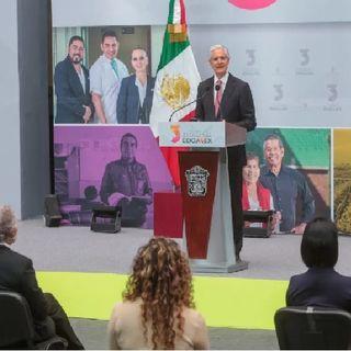 Alfredo del Mazo, rinde su tercer informe de gobierno