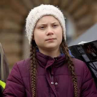 Greta Thunberg - the 16-year-old leader of the climate movement
