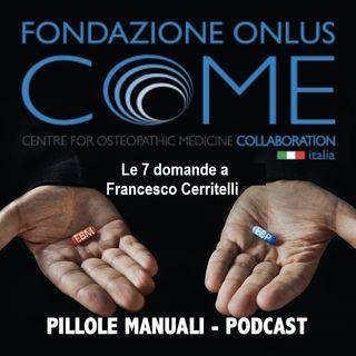 Le 7 domande a Francesco Cerritelli