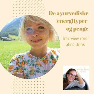 De ayurvediske energityper og penge - interview med Stine Brink