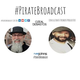 Catch Ozeal Debastos on the PirateBroadcast
