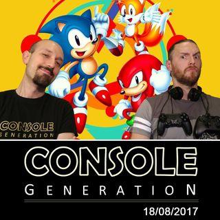 Sonic Mania, Uncharted: L'Eredità Perduta e altro! - CG Live 18/08/2017