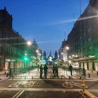 Cerradas calles del centro por desfile