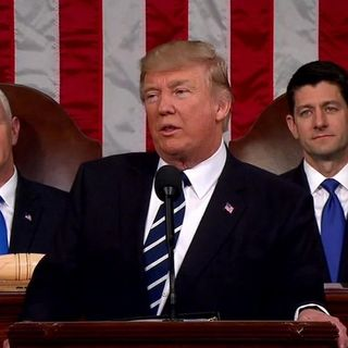 Reviewing #Trump's #JointAddress to #Congress; #TravelBan 2.0 Delayed