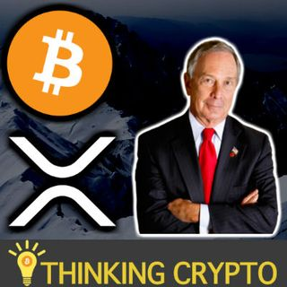 Jeb McCaleb XRP Selling  - Mike Bloomberg Crypto Regulations - IRS Crypto Summit - BitGo Harbor