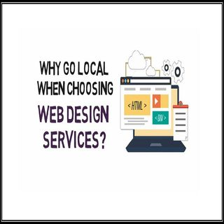 Why Go Local When Choosing Web Design Services?