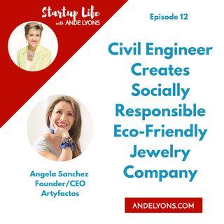Civil Engineer Creates Socially Responsible Eco-Friendly Jewelry Company