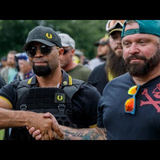 Non-White Leader of Proud Boys Arrested in DC