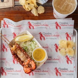 Cousins Maine Lobster Co-Owner Sabin Lomac & Frach's Fried Ice Cream Co-Owner Zachary Hurst
