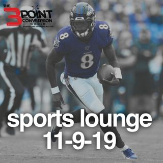 The 3 Point Conversion Sports Lounge- Lamar Jackson Running Too Much(?), Memphis James Wiseman Playing, LSU vs. Bama, Suns Big Surprise