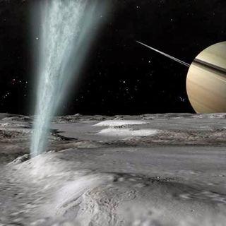 Un cocktail all'idrogeno nell'oceano di Encelado