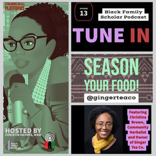 """Season your food!"" Kitchen herbs as medicine with Christina Brown"