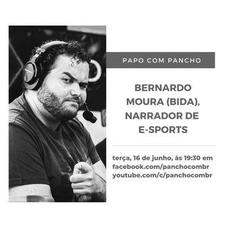 """Bernardo """"Bida"""" Moura, narrador de esportes eletrônicos"""