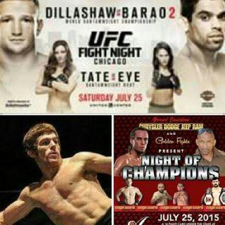 Fightlete Report Radio July 21st