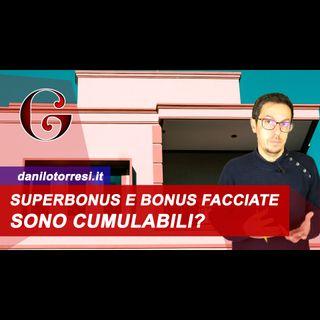 Superbonus Sismabonus e Bonus Facciate con cambio di destinazione sono cumulabili?