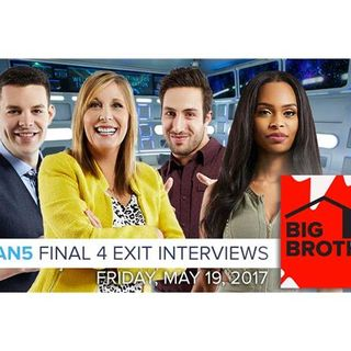 Big Brother Canada 5 | Final 4 Exit Interviews - May 19, 2017