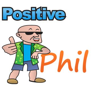 The Grief Entrepreneur, Karen Millsap is on the Positive Phil Show