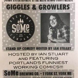 Giggles And Growlers-SoMe Brewing, York ME. 3-31-18 (B-Rad Clean Set)