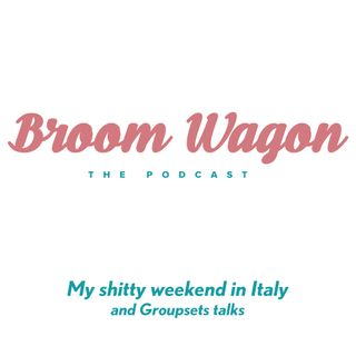 My Shitty weekend in Italy and Groupsets talks