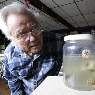 Bill Benson  Local UFO researcher