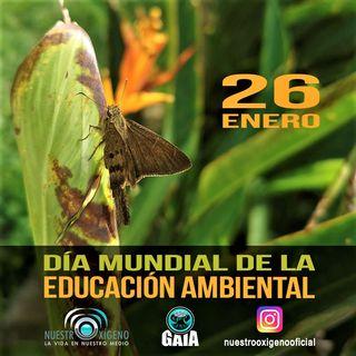 NUESTRO OXÍGENO 26 de enero Día mundial de la Educación Ambiental