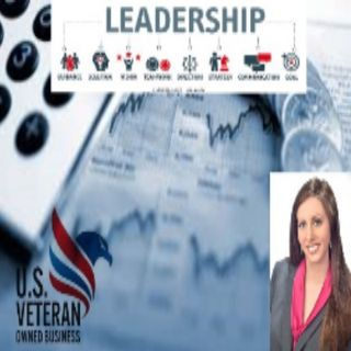 Financial services, Veterans business owners, and leadership as a female Veteran