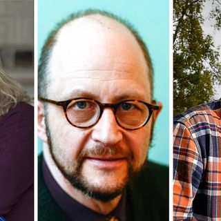 Fredrik Sjöberg, Helena von Zweigbergk och Per Naroskin