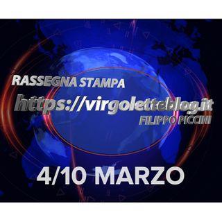RASSEGNA STAMPA 4/10 marzo | virgoletteblog.it