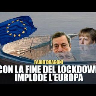 """Fabio Dragoni: """"Usano l'emergenza per allungare l'agonia della Ue"""""""